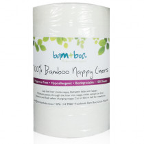 Bam+Boo Biodegradable Flushable Bamboo Nappy Liners