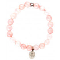 Live Light Rose Quartz Bracelet