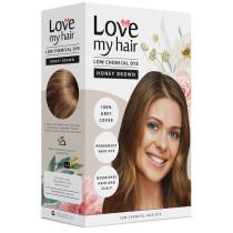 Love My Hair Low Chemical Honey Brown Hair Dye