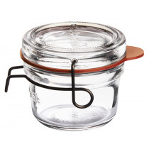 Luigi Bormioli Lock-Eat Food Jar with lid 125ml