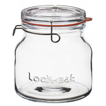 Luigi Bormioli Lock-Eat Handy Jar with Lid - 1.5 Litre