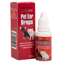 NanoTech Pet Ear Drops