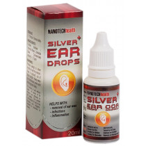 Nanotech Silver Ear Drops