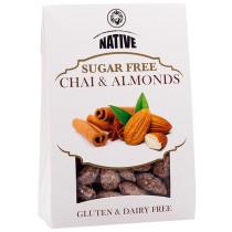 Native Crispy Coated Almonds with Chai Spice