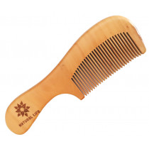 Natural Life Pear Wood Comb
