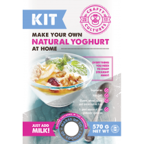 Crafty Cultures Natural Yoghurt Starter Kit