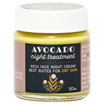 Naturals Beauty Avocado Night Cream (Dry/Combo Skin)