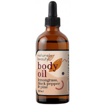 Naturals Beauty Lemongrass, Black Pepper & Pine Body Oil