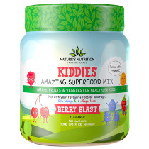 Nature's Nutrition Kiddies Amazing Superfood Mix - Berry Blast