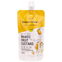 Nature's Choice Mango Fruit Custard Kids Snack