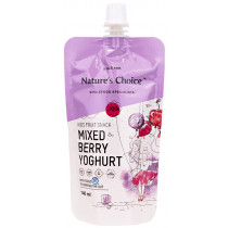 Nature's Choice Mixed Berry Yoghurt Kids Snack