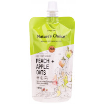 Nature's Choice Peach Apple Oats Kids Snack