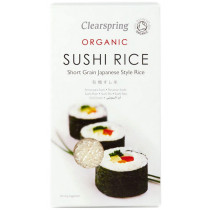 Clearspring Organic White Sushi Rice