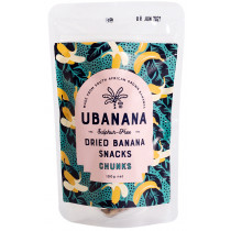 uBanana Dried Banana Chunks
