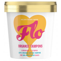 Flo Organic Tampons Non-Applicator