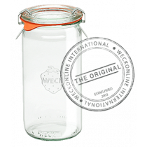 Weck Cylindrical Glass Jar