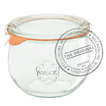 Weck Tulip Glass Jar