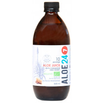 Organic Aloe 24/7 Juice- Cinnamon and Honey