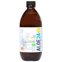 Organic Aloe 24/7 Juice- Lemon, Ginger and Honey
