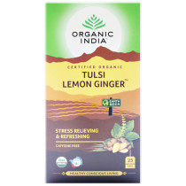 Tulsi Tea Lemon Ginger
