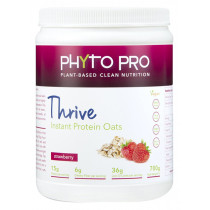 Phyto Pro Thrive Strawberry Protein Oats