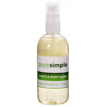 Pure Simple Fragrance-Free Castile Body Wash