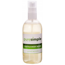 Pure Simple Lavender Castile Body Wash