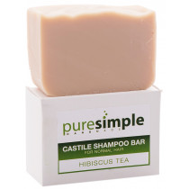 Pure Simple Shampoo Bar Hibiscus Tea
