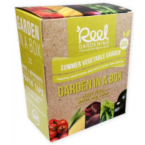 Reel Gardening Summer Vegetable Garden in a Box