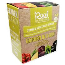 Reel Gardening Summer Vegetable Garden in a Box