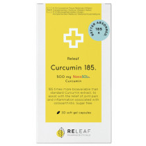 Releaf Curcumin 185 Softgels