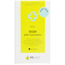 Releaf MSM With Curcumin Tablets