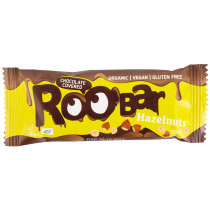 Roobar Hazelnut Chocolate Bar