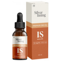 Silver Lining Isolate CBD Oil 600mg