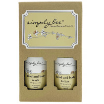 Simply Bee Hand & Body Gift Pack - Glass