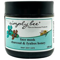 Simply Bee Teen Skin Care Charcoal & Honey Mask