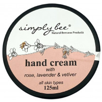 Simply Bee Hand Cream - Rose, Lavender & Vetiver