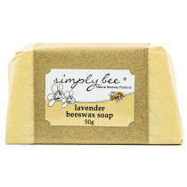 Simply Bee Lavender Beeswax Soap