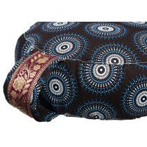 Simply Shweshwe Zafu Cushion - Cosmic Bliss
