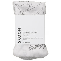 SKOON. Bamboo Muslin Face Cloth