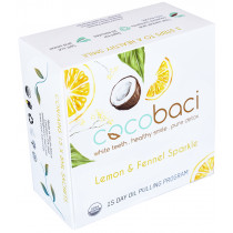 CocoBaci 15 Day Oil Pulling Program - Lemon & Fennel Sparkle