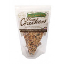 Earthshine Flax Crackers with Mixed Super Seed