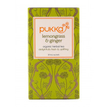 Pukka Lemongrass and Ginger Tea