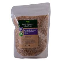 Health Connection Organic Short Grain Brown Rice