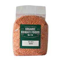 Komati Organic Red Lentils