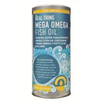 The Real Thing Mega Omega Fish Oil Liquid - Lemon