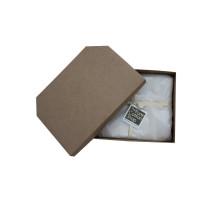 The Pure Cotton Shop Organic Bedding Gift Set, Three Quarter Sheet & 1 Pillowcase