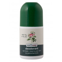 Earthsap Wild Rose & Vanilla Roll-On Deodorant