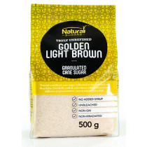 Natura Golden Light Brown Cane Sugar