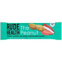 Rude Health The Peanut Snack Bar - Gluten-Free